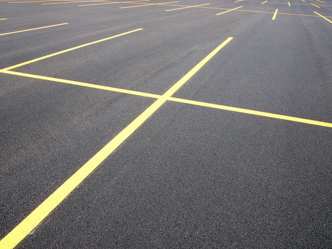Maintain your pavement with parking lot striping